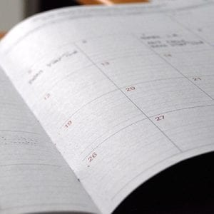 A note to readers on The Call's calendar