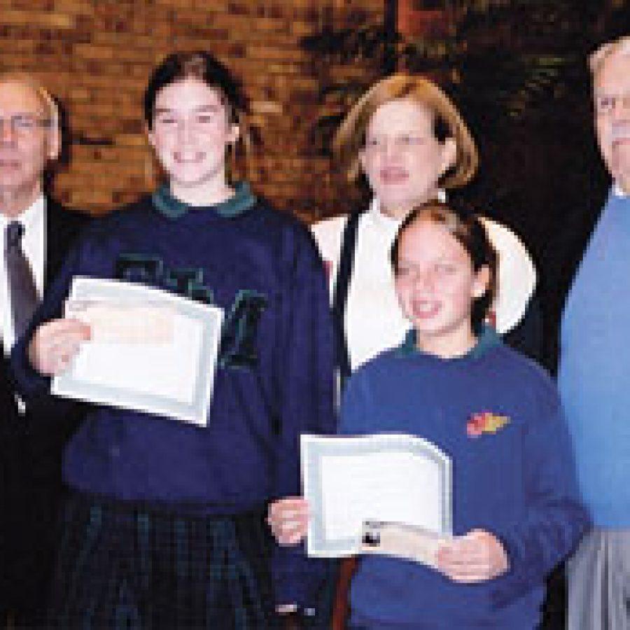 Seventh-graders win essay contest