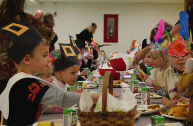 Mehlville students are thankful for food and family this Thanksgiving