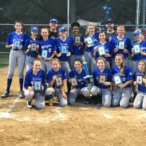 Queen of All Saints softball girls are CYC champs