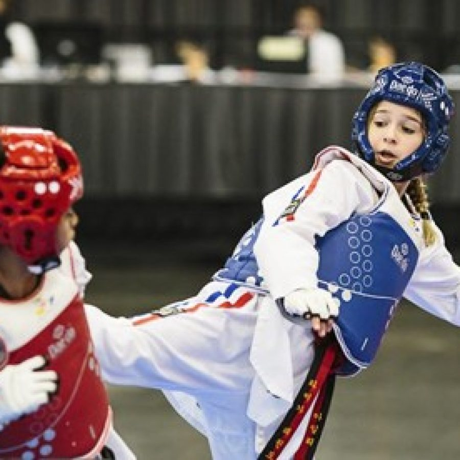 Truman Middle School seventh-grader Kiley Mehringer won a Silver Medal at the 2016 World Taekwondo President's Cup-Pan America Region competition.