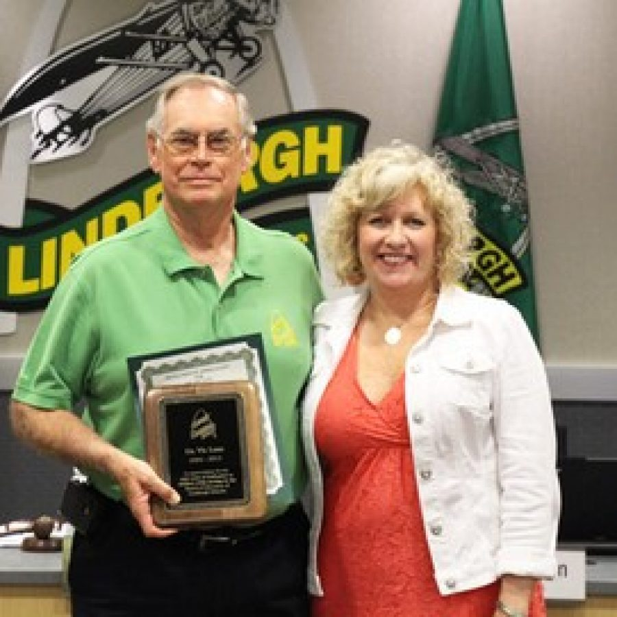 Lenz Honored By Lindbergh Board Of Education