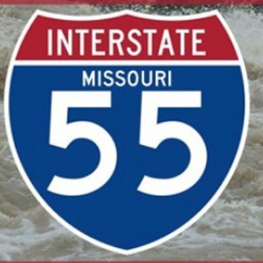 FLOOD UPDATE: All lanes of southbound Interstate 55 open, schools shut down