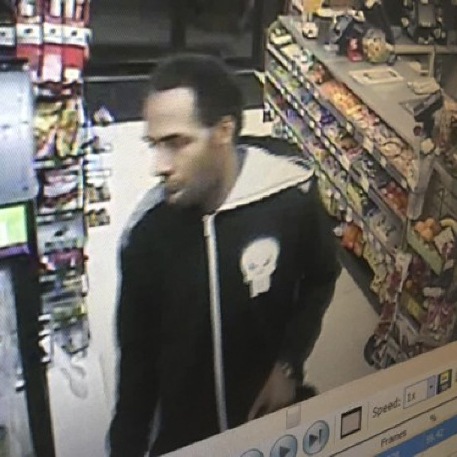 The county Police Department's Bureau of Crime Against Persons is seeking the public's help in identifying this suspect in two armed robberies.