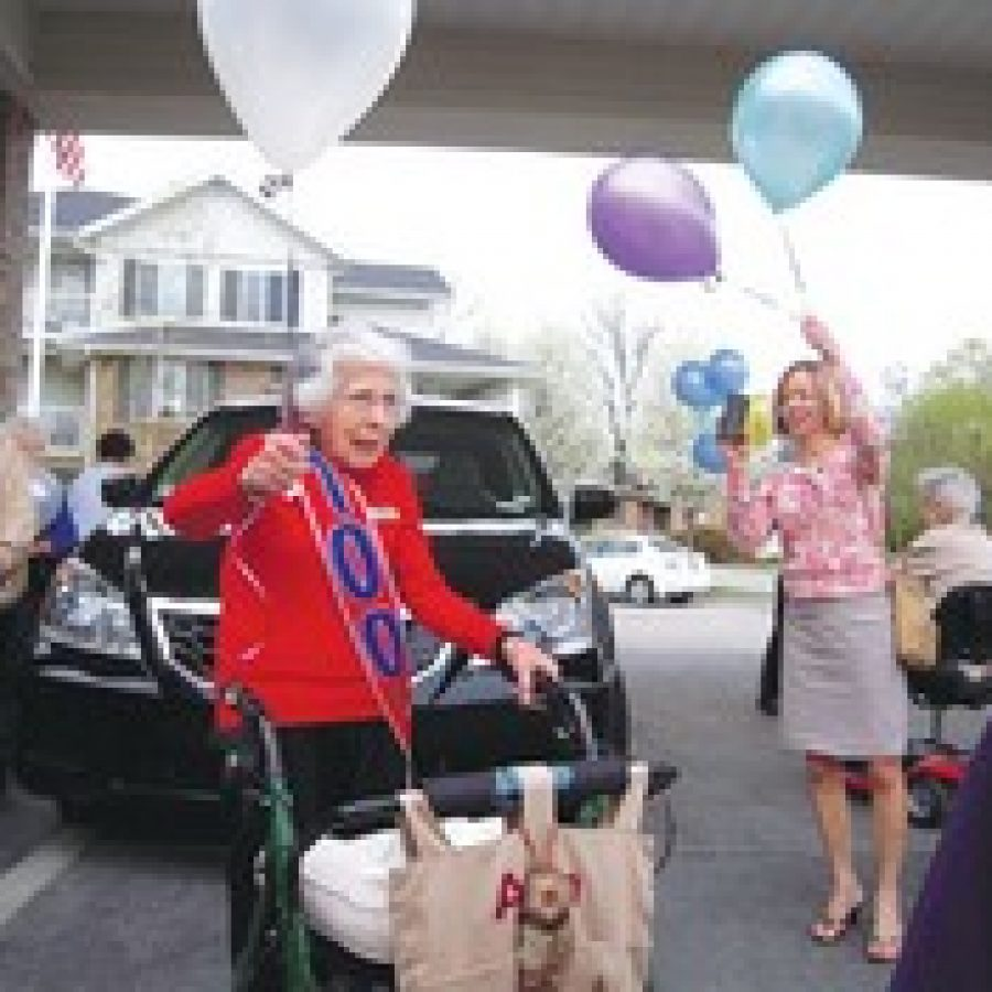 South county woman marks 100th birthday