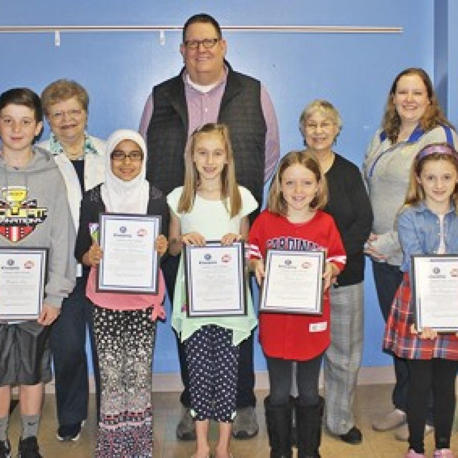 Point Terrific Kids of the Month honored