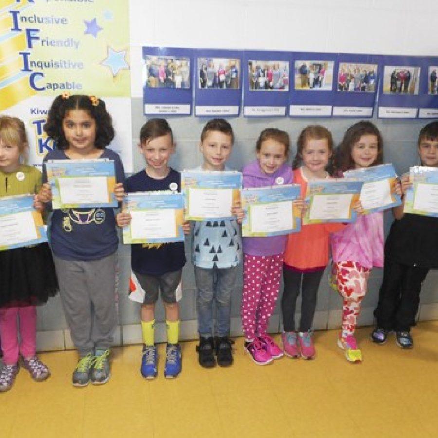Mesnier Terrific Kids recognized