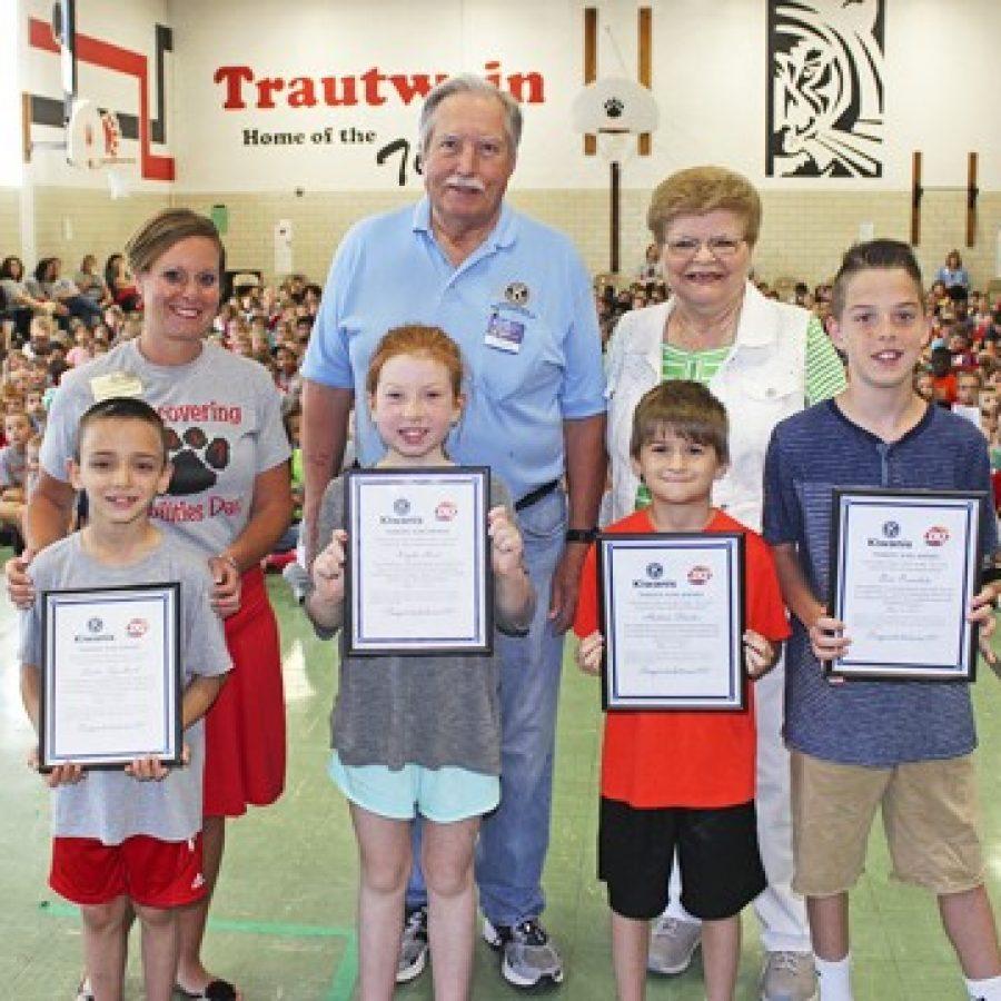 Trautwein Terrific Kids recognized