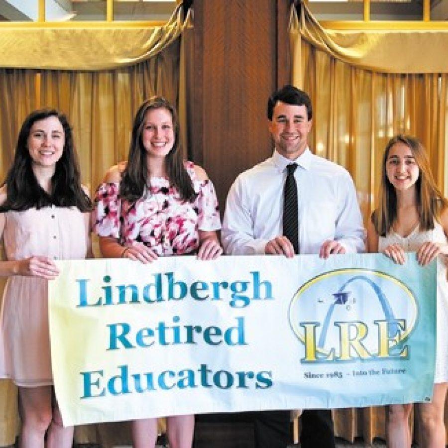 Retired educators award scholarships