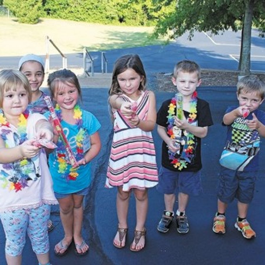 Blades Kindergarten Popsicle Play Date a hit