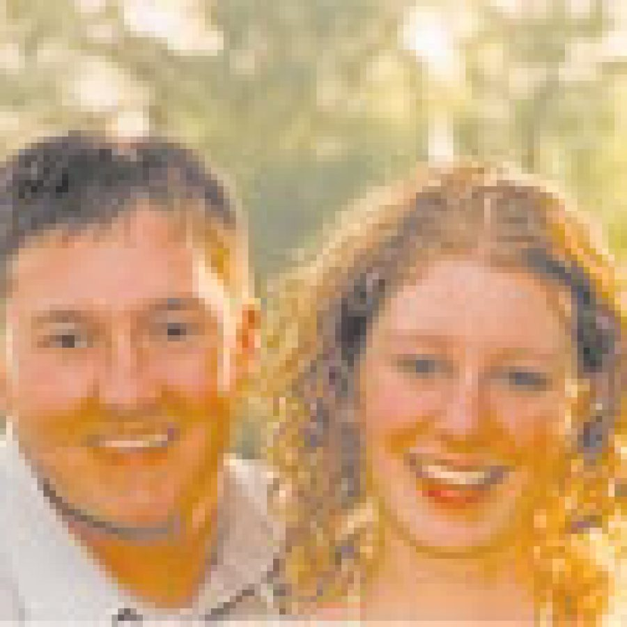 Brent Davidson and Laura Juergens