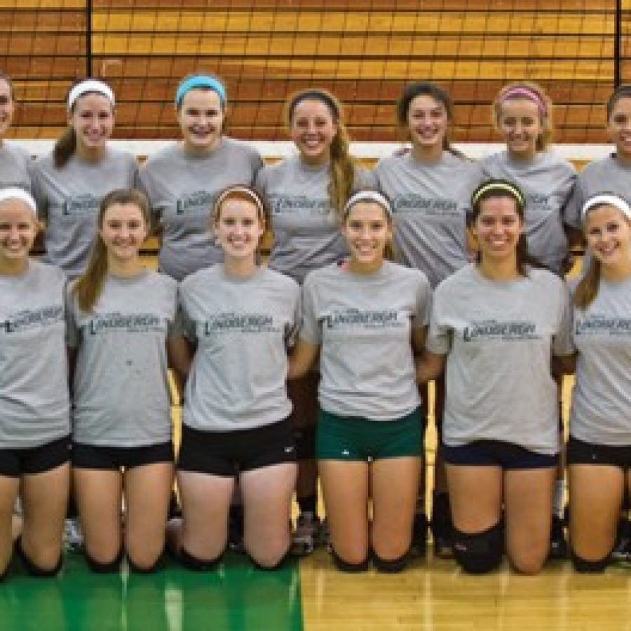 Head coach Johnna Wieter is optimistic about what her Lindbergh High School girls' volleyball squad can accomplish during the 2014 season.
