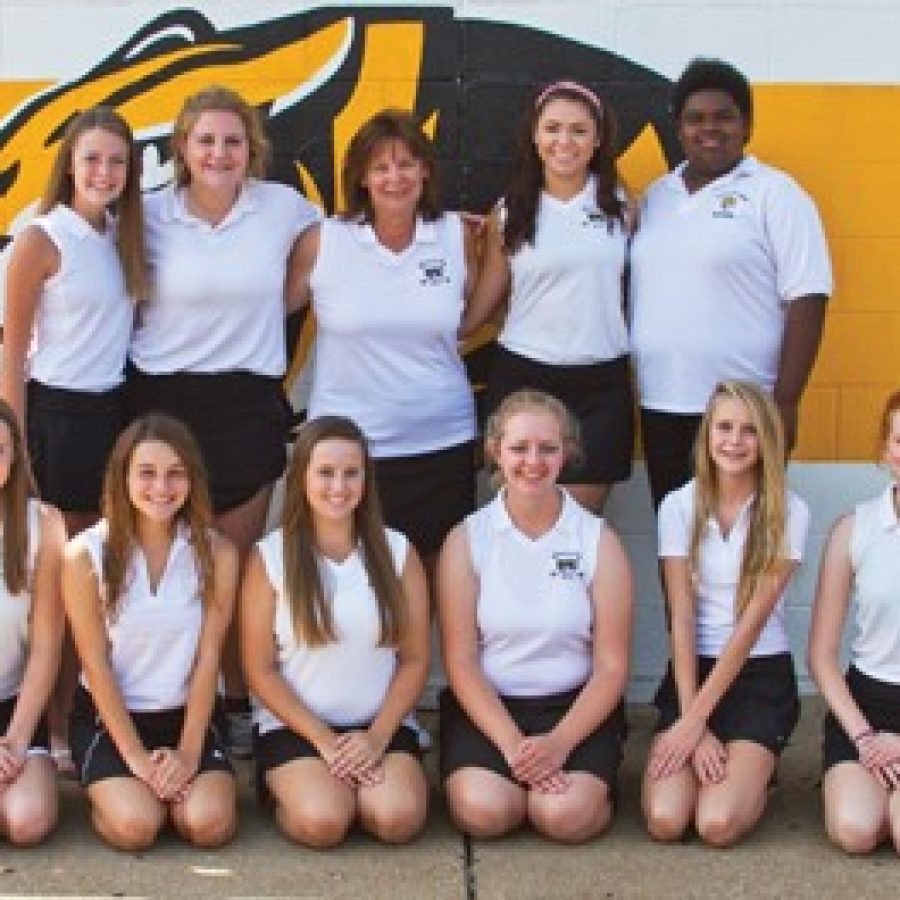 With seven returning players, head coach Cindy Maulin has high expectations for her Oakville Senior High School girls' golf team this year.