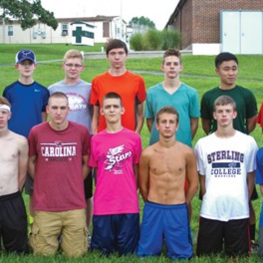 Head coach Mark Ehlen hopes to bring his Mehlville Senior High School boys' cross country program to a higher level this year.