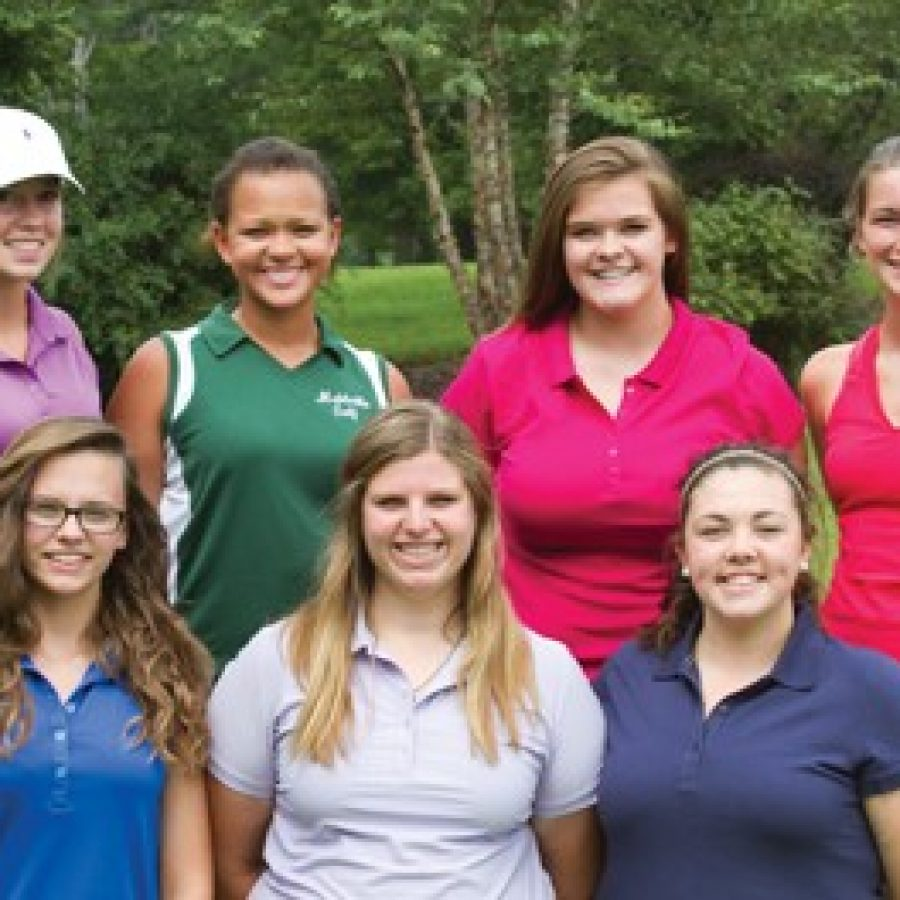 Head coach Gary Pearson's biggest expectation for members of his Mehlville High girls' golf team is that they 'improve from day one to the end of the year.'