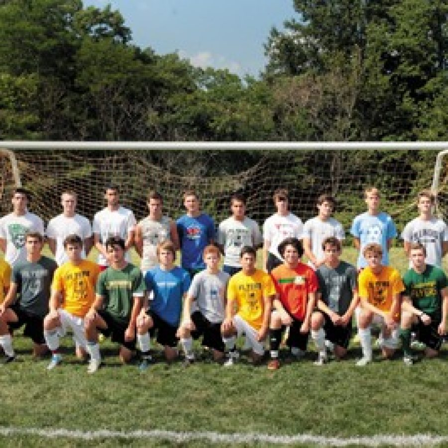 Head coach Andrew Mertens has high expectations for his Lindbergh High School soccer team this year.