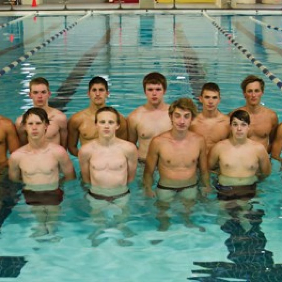 The Oakville High swim team's goal this season is to qualify for the 200-freestyle relay for the state championship meet, says head coach Dan Schoenfeldt.
