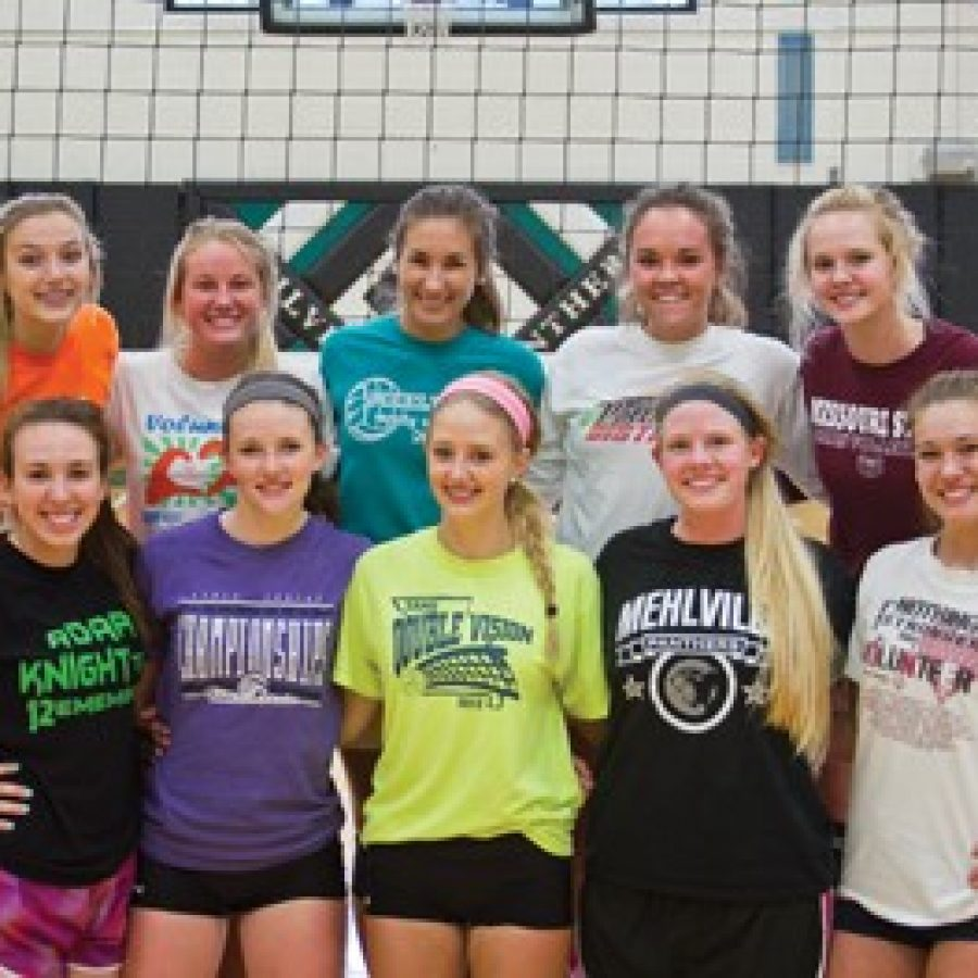 Head coach Susan Hurt is very optimistic about how well her Mehlville Senior High School girls' volleyball team will fare this season.