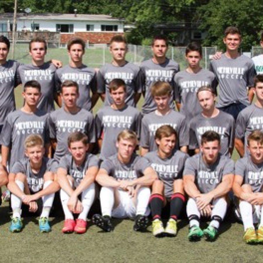 Head coach Tom Harper says the technical ability of his 2014 Mehlville Senior High School boys' soccer team is very high.