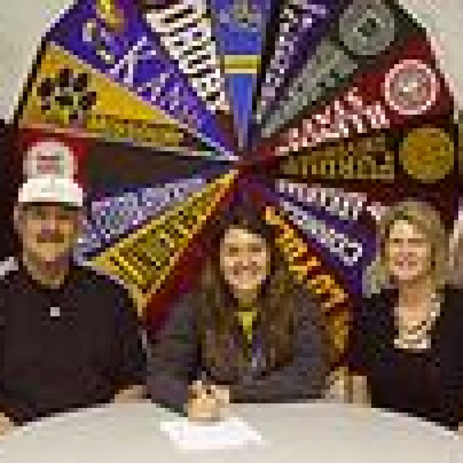 Lindbergh athletes sign on for college level play