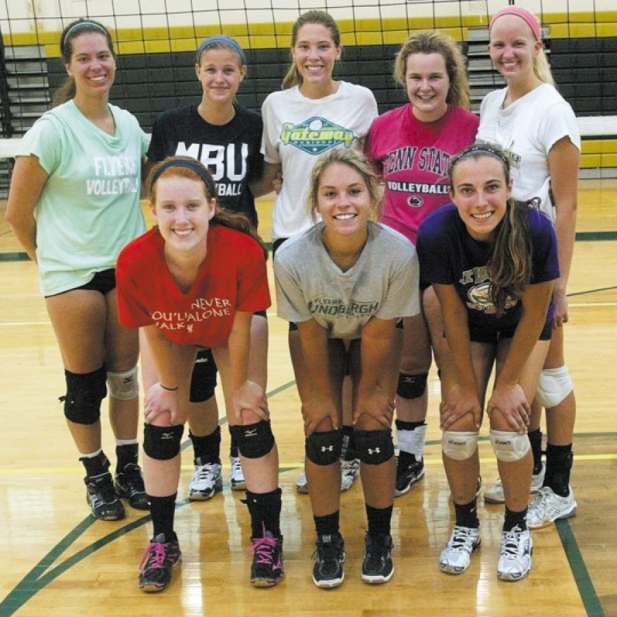 Lindbergh High volleyball head Johnna Wieter is optimistic about the 2015 season as most of her starting lineup returns from last year.