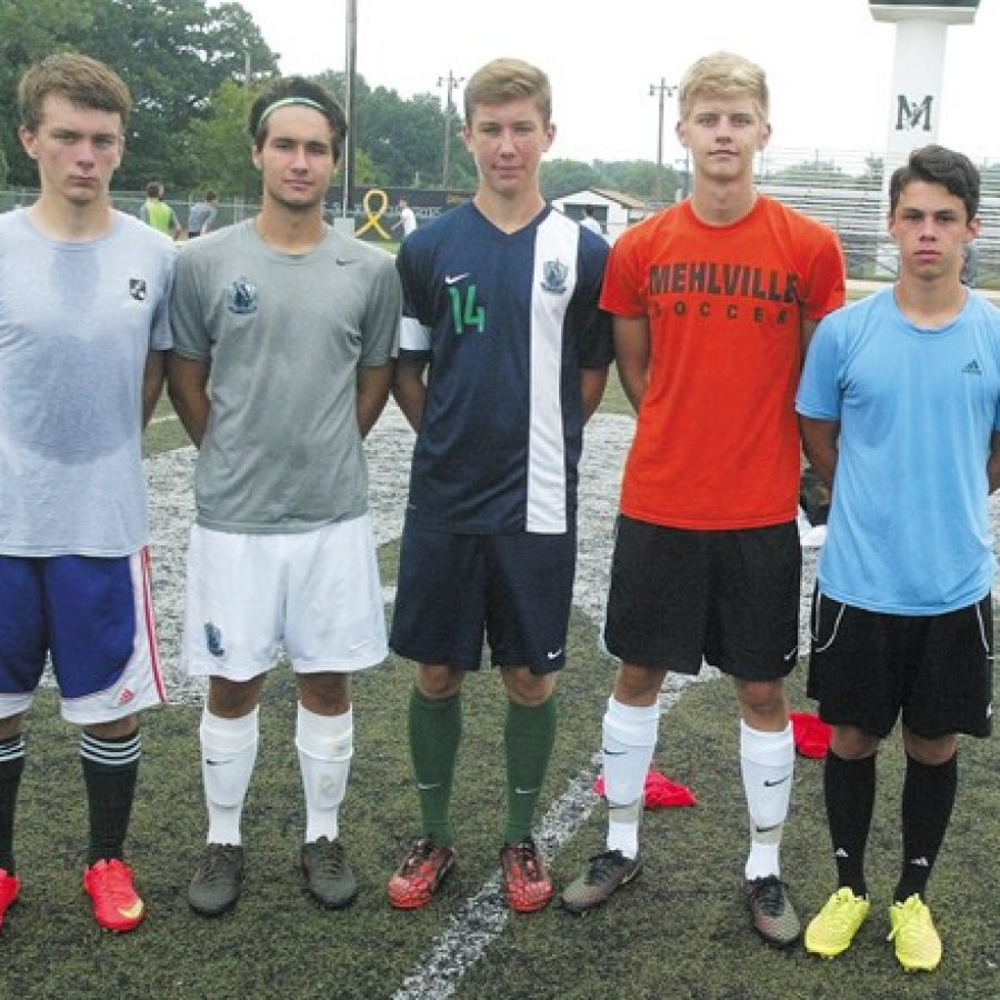 Mehlville High's head boys' soccer coach Tom Harper says his 2015 squad is very young, but his athletes are enthusiastic and working very hard.