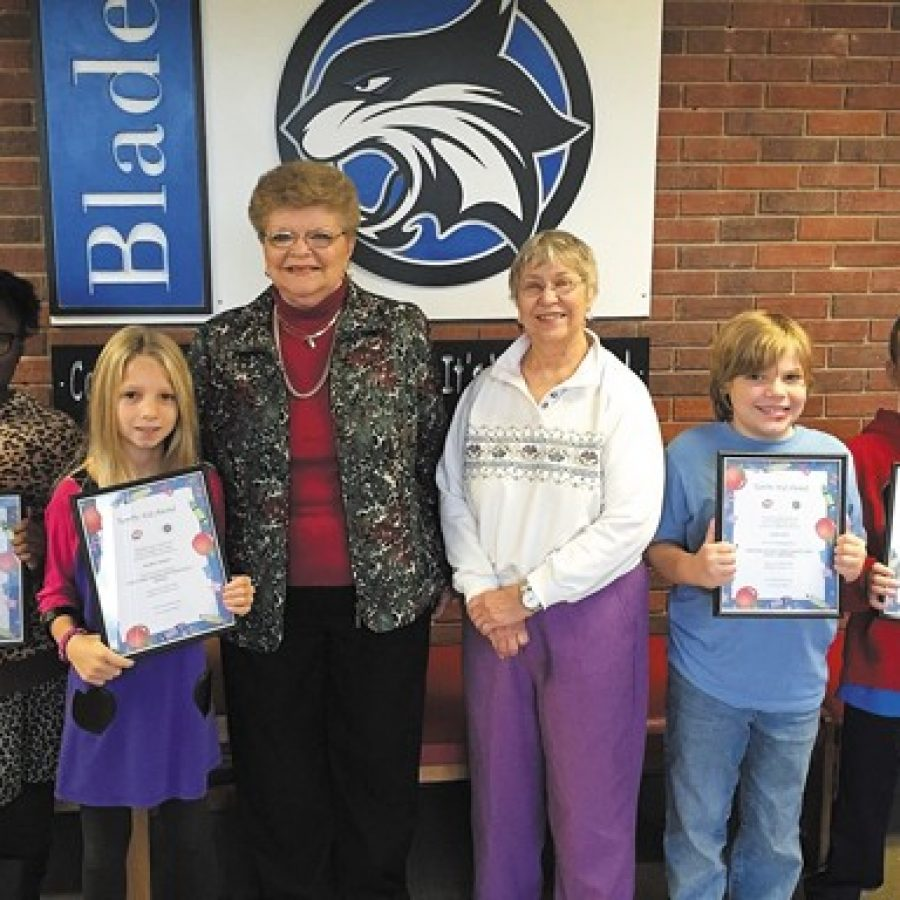 Terrific Kids honored at Blades Elementary