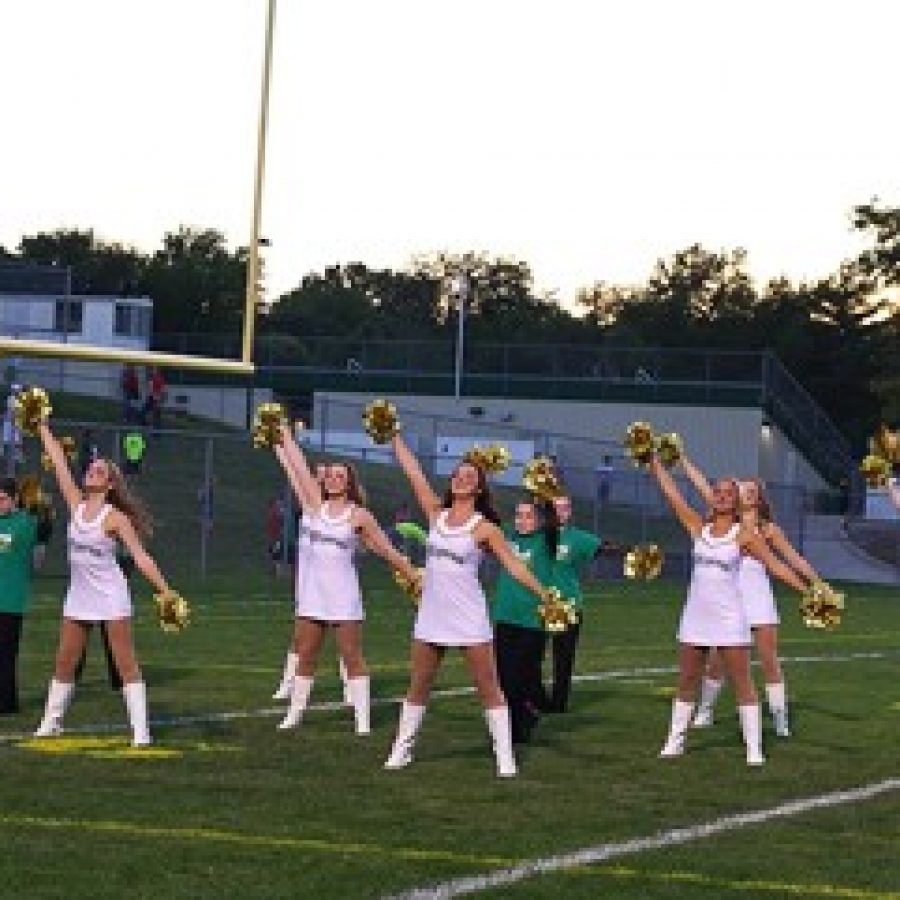 The Shining Stars is Lindbergh High School's all-inclusive dance team, which performed alongside the Flyerettes at halftime during the school's recent Homecoming football game.
