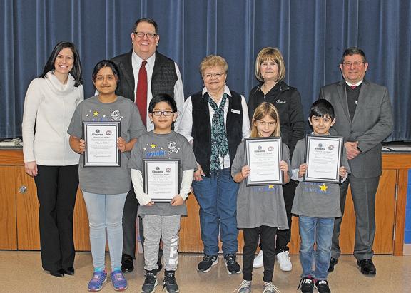 Forder Elementary Terrific Kids honored