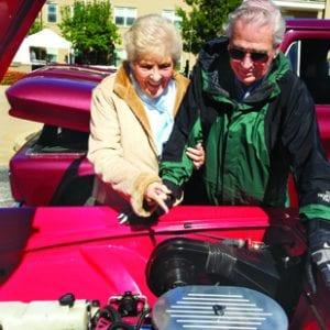 Residents enjoy Friendship Village Vintage Car Show