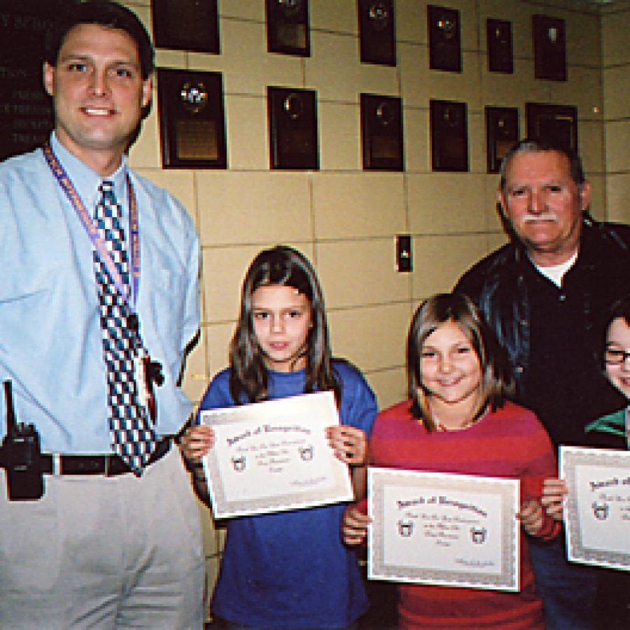 Affton Elks honor Gotsch pupils