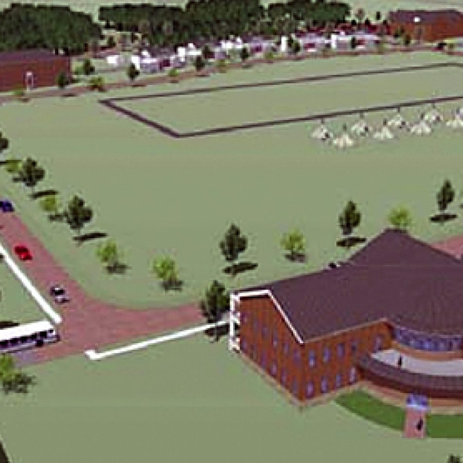 The Jefferson Barracks master plan calls for a new \