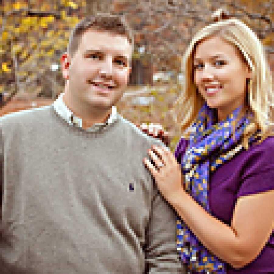 Joseph Bauer and Katie Peterson