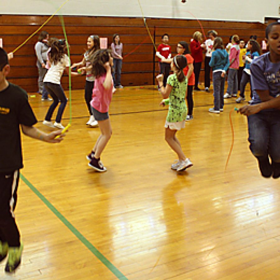Fifth-graders put their heart into fundraiser