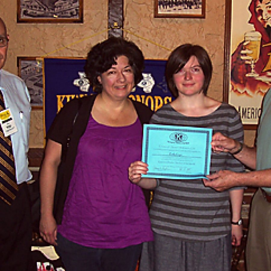 Kiwanis Club Honors Student of the Month