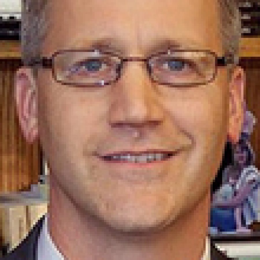 \I really want to encourage people if they have an issue with our school before they take it to an audience to allow me the right to address that issue. People get comfortable with anonymity and I understand that very much; its easy to understand that. But its hard to help anonymous people.\ — Mehlville Superintendent Eric Knost