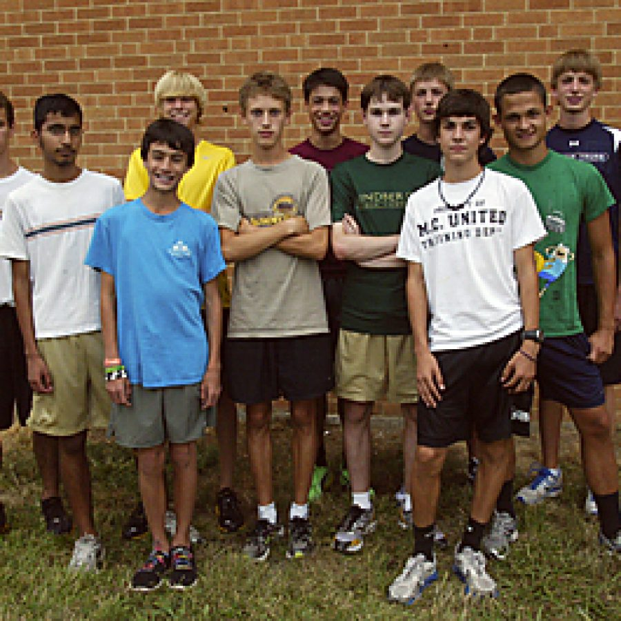 After missing qualifying for the state meet by five points last season, the Lindbergh boys' cross country team wants to get into that top four this year. Bill Milligan photo
