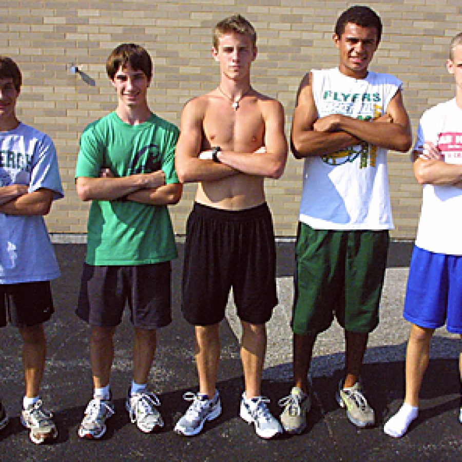 Head coach Jim Petersen believes his Lindbergh High School boys' cross country team is poised to have another breakout season. Bill Milligan photo