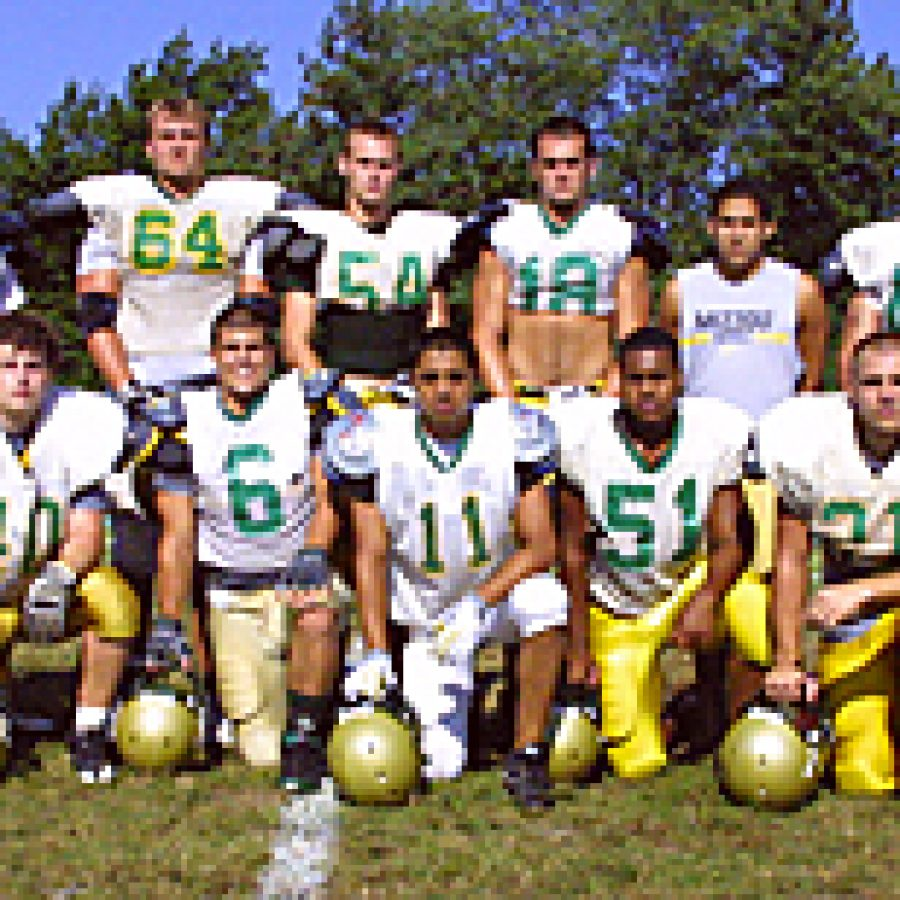 Bill Milligan photoHead coach Tom Beauchamp believes members of his 2009 Lindbergh High football team are 'pretty excited about playing some good football.' Bill Milligan photo