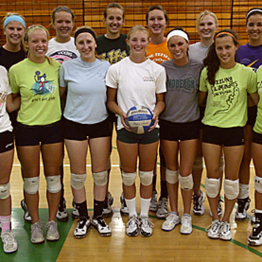 Head coach Johnna Wieter is excited about her Lindbergh High School girls' volleyball team that features quite a bit of returning talent. Bill Milligan photo