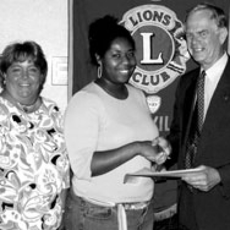 Lions Club awards scholarship