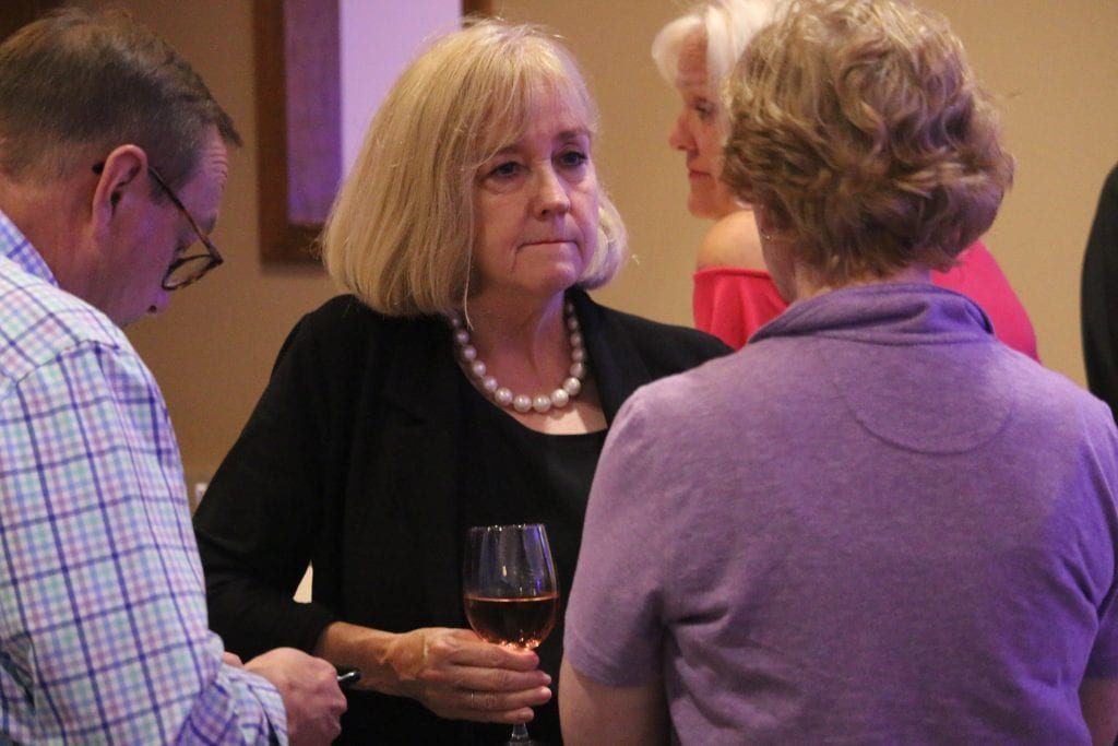 St. Louis Mayor Lyda Krewson was at then-County Executive Steve Stenger's 2018 victory party in Sunset Hills. Photo by Jessica Belle Kramer.