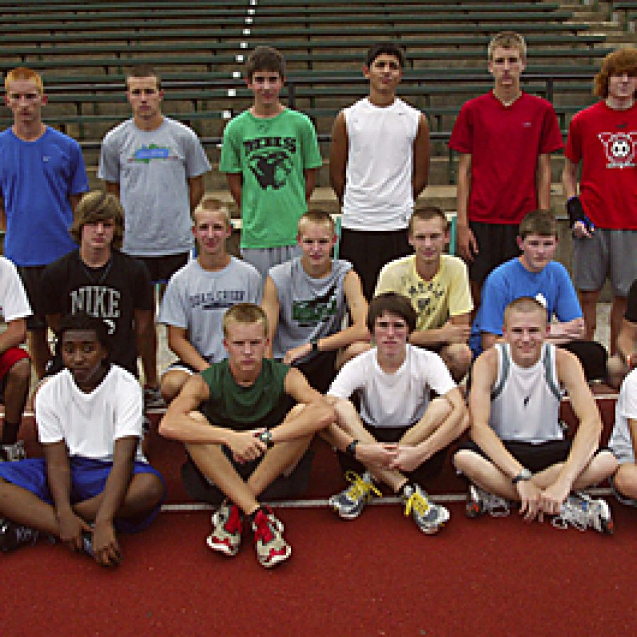 The Mehlville High boys' cross country program continues to see an increasing number of athletes coming out for the team. Bill Milligan photo