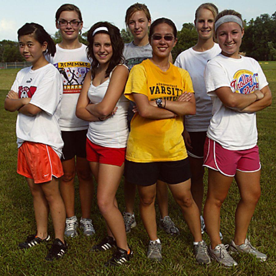 Head coach Shannon Hyde believes her Mehlville Senior High School girls' cross country program is making strides. Bill Milligan photo