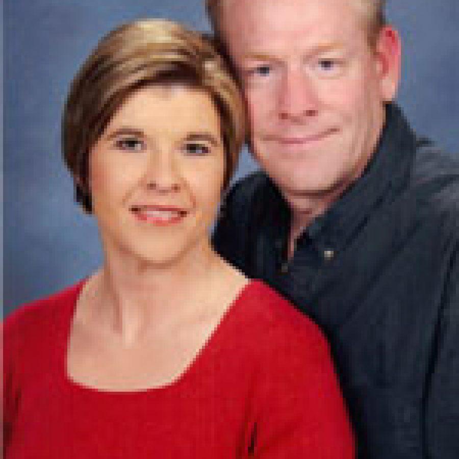 Heather Morris and Richard Shade