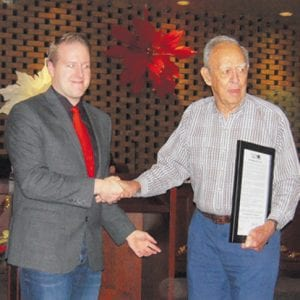 Crestwood mayor, aldermen honor longtime citizen with proclamation