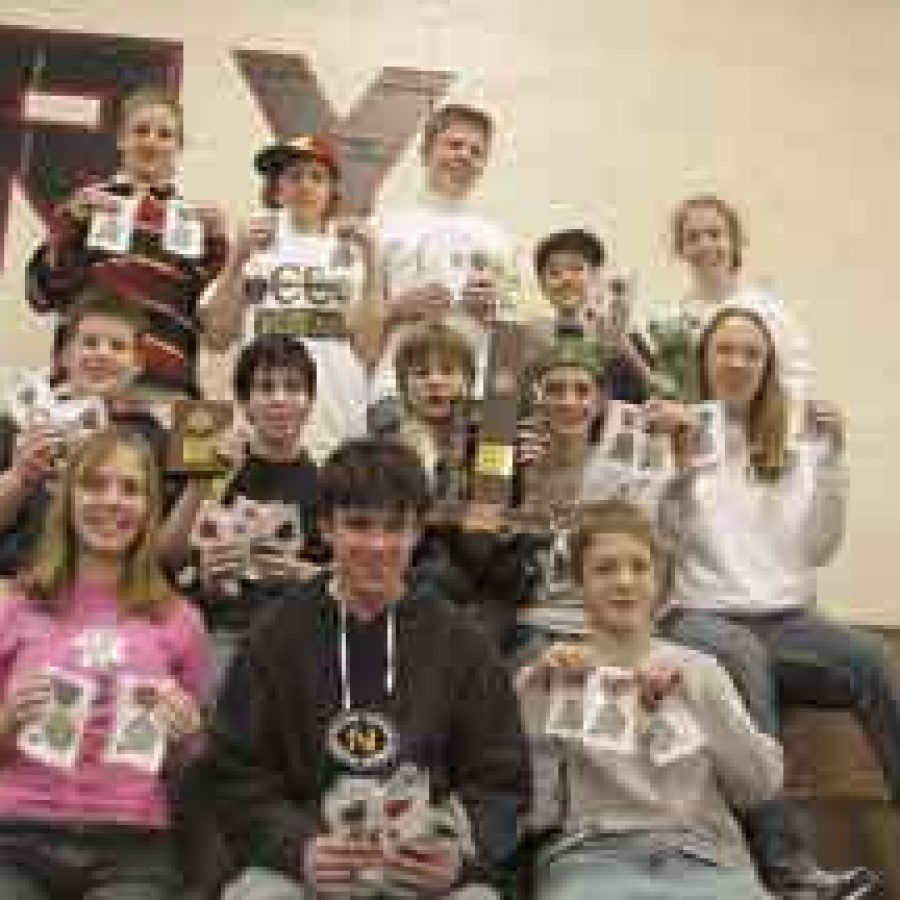 Sperreng Middle School's Science Olympiad team to compete for state honors April 5