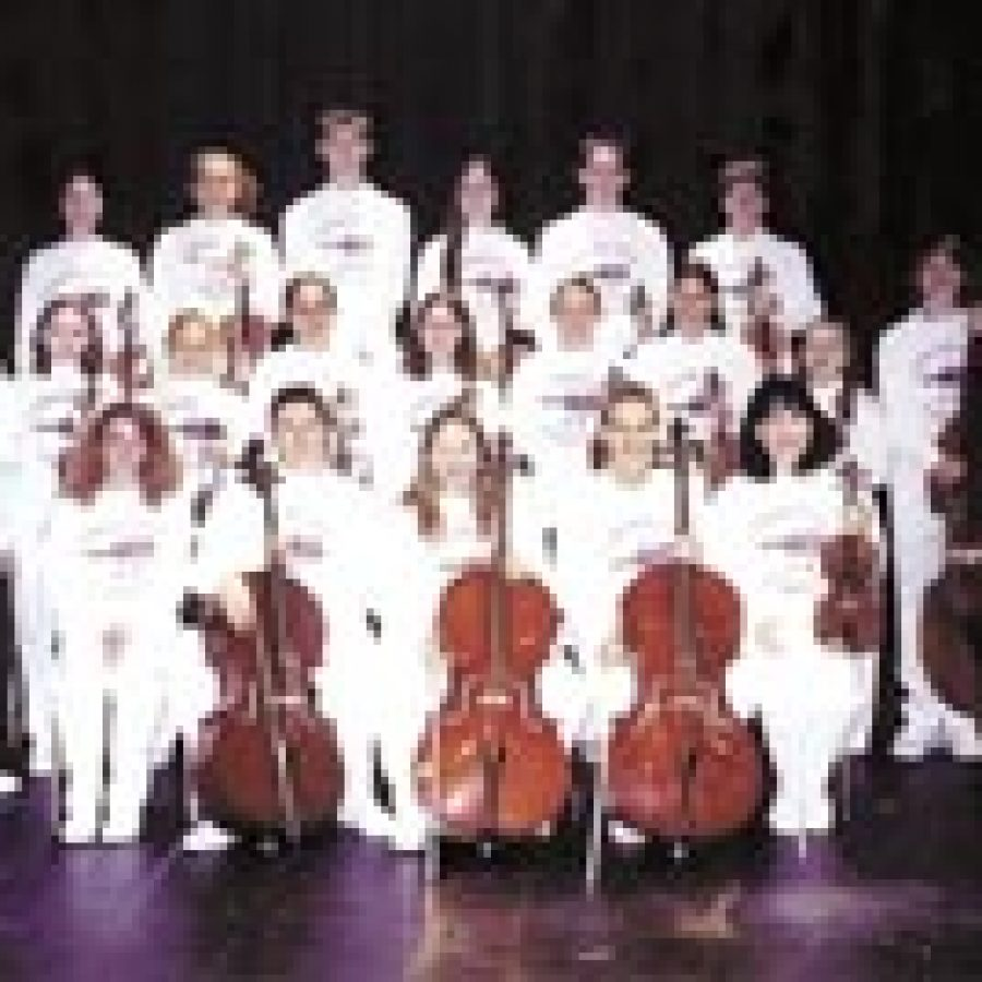 The Lindbergh High School Strolling Strings recently performed in the 2003 National Festival of the States in Washington, D.C.