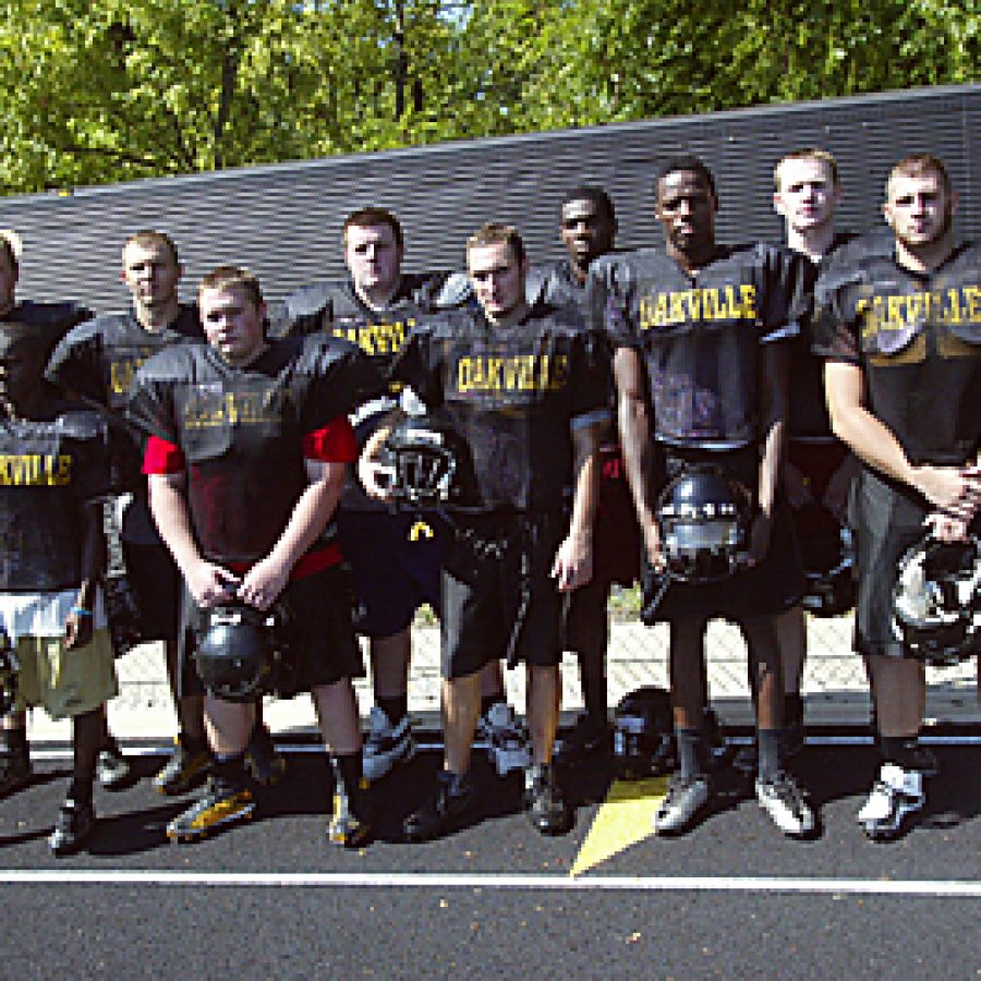 Oakville head coach Arlee Conners believes in his football team and wants to lead it back to the top of the ranks this season. Bill Milligan photo
