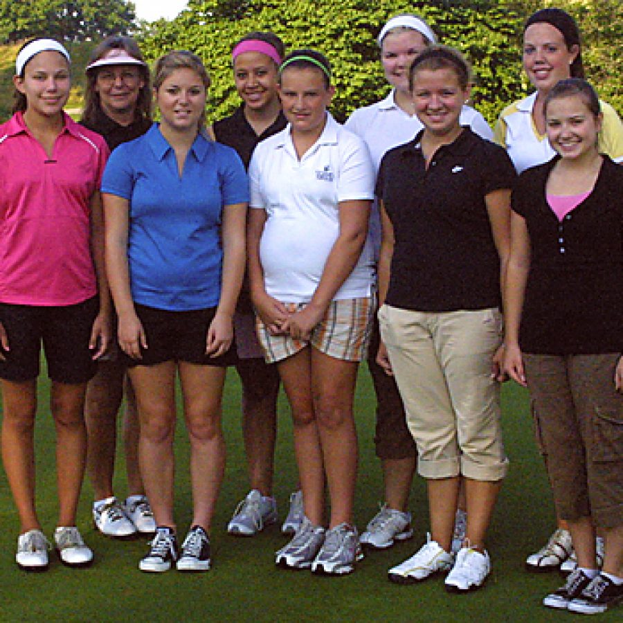 With everybody returning from last year, head coach Cindy Maulin expects her Oakville Senior High School girls' golf team to be strong and experienced. Bill Milligan photo